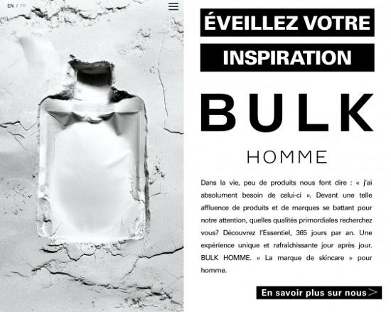 バルクオム、英仏で公式オンラインストアをオープン - 化粧品業界人 ...